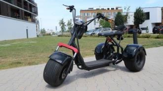 Elektrický Chopper 65  60V tricycle30km/h 200km