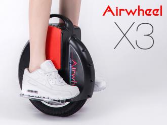 AirWheel X3S Black 132Wh