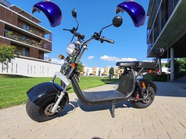 "Elektrický Chopper® Blue2 45km/h Model: ""CP-1"""