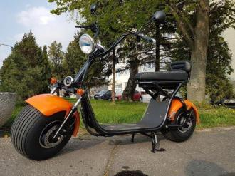 Elektrický Chopper 93  72V X1 change battery  50km/h  400km